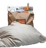 Atlas hoofdkussens Atlas pillow speltchaff (50 x 60 cm.)