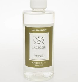 Lacrosse Refill for catalytic lamp 500ml SANDALWOOD & BERGAMOT