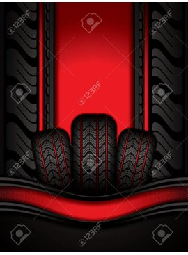 Miller Black Rubber Tires