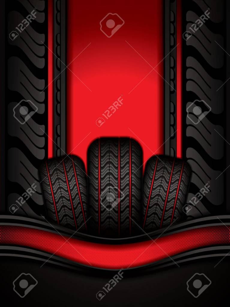 Miller Black Rubber Tires