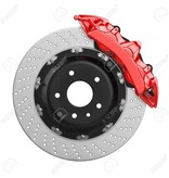 Aeration Steel Brake Disk