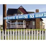Markeerlint Abraham blauw 15 meter