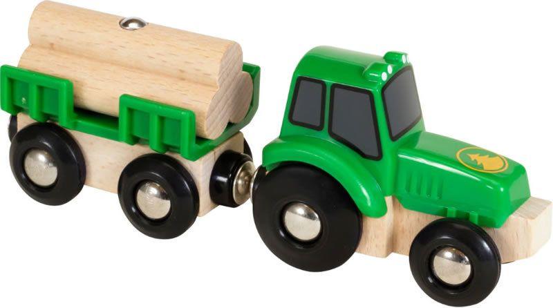 Brio Brio Traktor met aanhangwagen