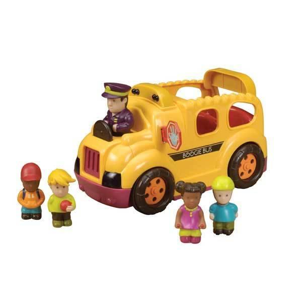 B-toys Boogie BusRrrroll Models Schoolbus met licht en geluid