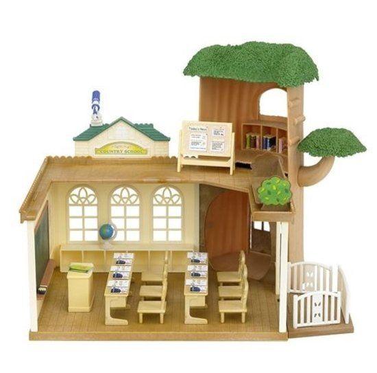 """Sylvanian Sylvanian Bosschool """"Country Tree School"""""""