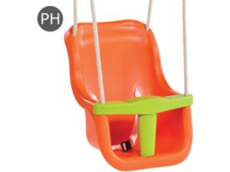 KBT Babyzitje - 'luxe' - PH - oranje/limoen groen