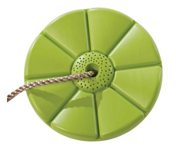 Kunststof schotelschommel - PP - limoen groen