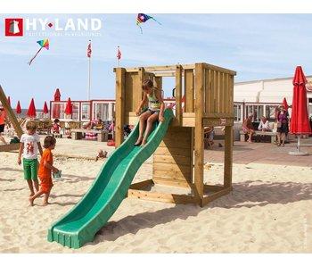 Hy-land speeltoestel P1 - Groene glijbaan