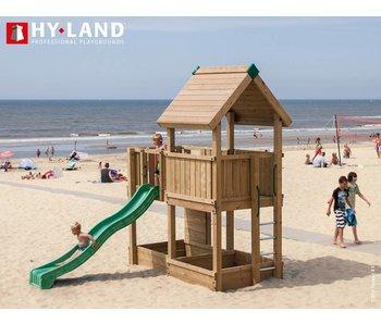 Hy-land speeltoestel P3 - Groene glijbaan