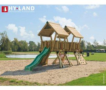 Hy-land speeltoestel Q4 - Groene glijbaan