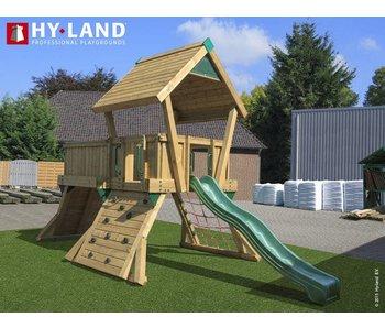 Hy-land speeltoestel Q3 - Groene glijbaan