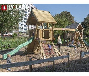 Hy-land speeltoestel Q2S - Groene glijbaan