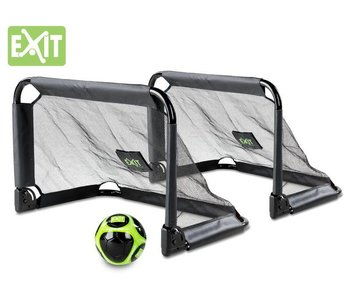 Exit  Pico Mini voetbaldoeltjes (set van 2 stuks) + gratis bal