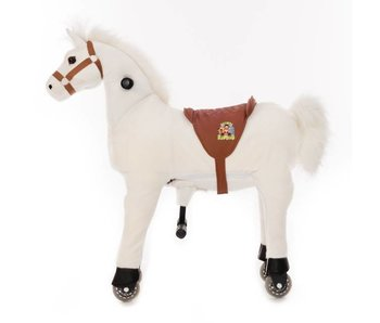 Animal Riding Paard Snowy X-Large Wit