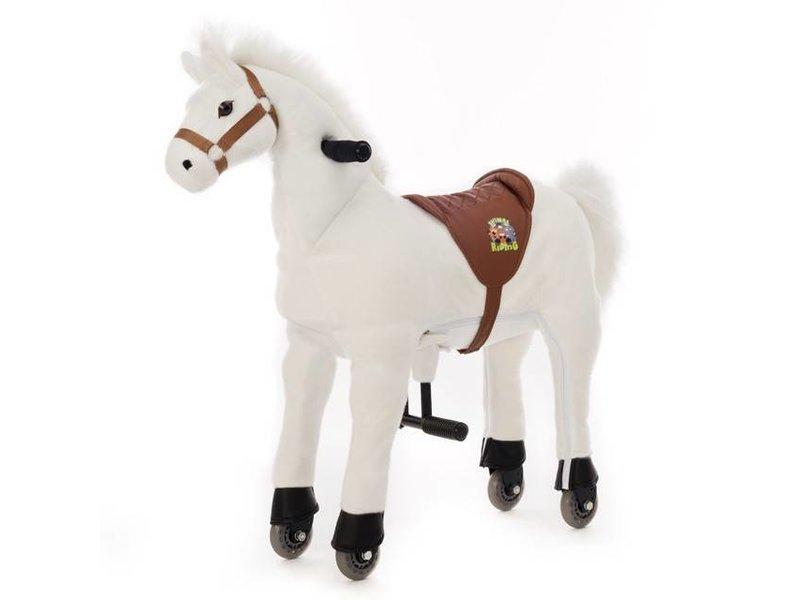 Animal Riding Paard Snowy X-Large Wit