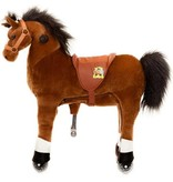 Animal Riding Paard Amadeus X-Large Bruin