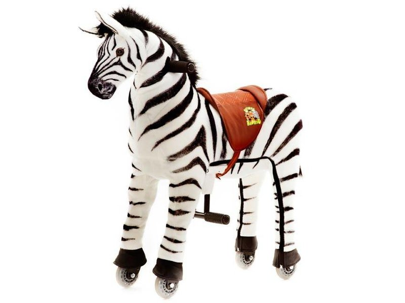 Animal Riding Zebra Marthi Medium