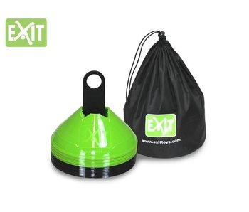 Exit  Markeringspionnen (set van 20, incl. draagtas)