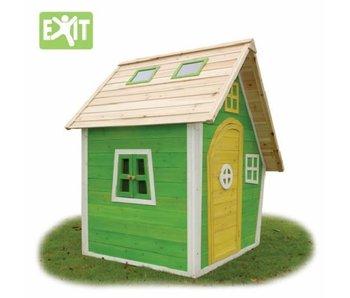 Exit  Houten Speelhuis Fantasia 100 Groen
