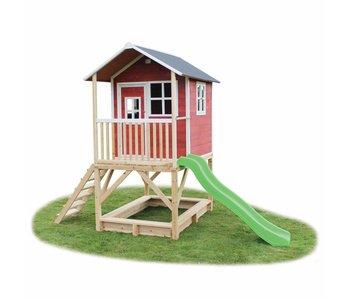 Exit Toys Houten Speelhuis Loft 500 Rood