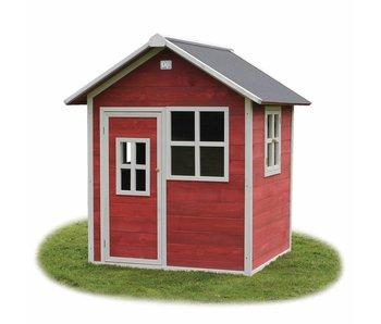 Exit Toys Houten Speelhuis Loft 100 Rood