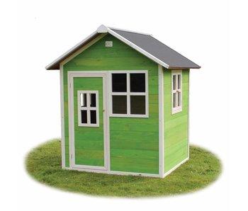 Exit Toys Houten Speelhuis Loft 100 Groen