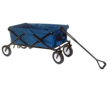 Outdoor bolderwagen opvouwbaar blauw