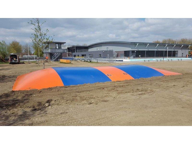 Airtrampoline 9 x 18 meter