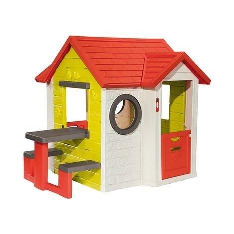 speelhuisje my house met picknickbank recreatiespeelgoed. Black Bedroom Furniture Sets. Home Design Ideas