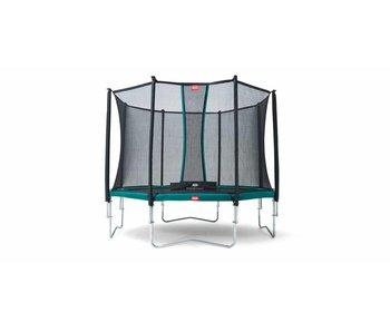 BERG Trampoline Favorit 430 + Safety net Comfort met gratis ladder