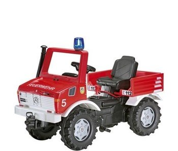 Rolly Toys Unimog trapauto Brandweer