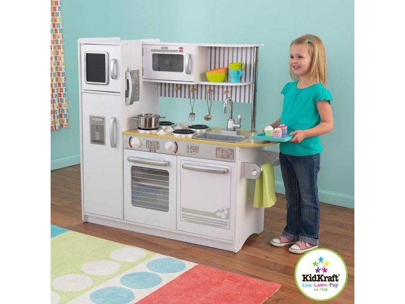 Uptown Witte Keuken : Kidkraft uptown witte keuken recreatiespeelgoed