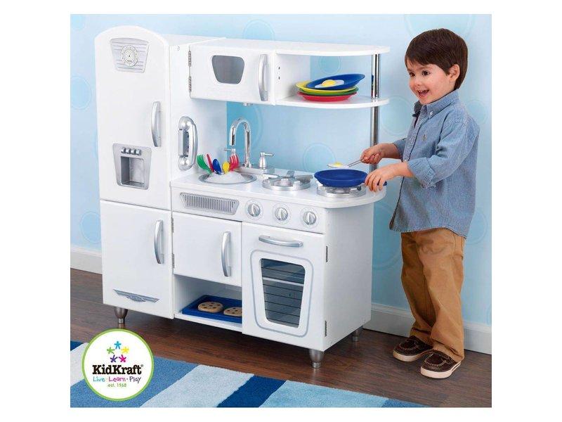Uptown Witte Keuken : Kidkraft witte vintage keuken recreatiespeelgoed