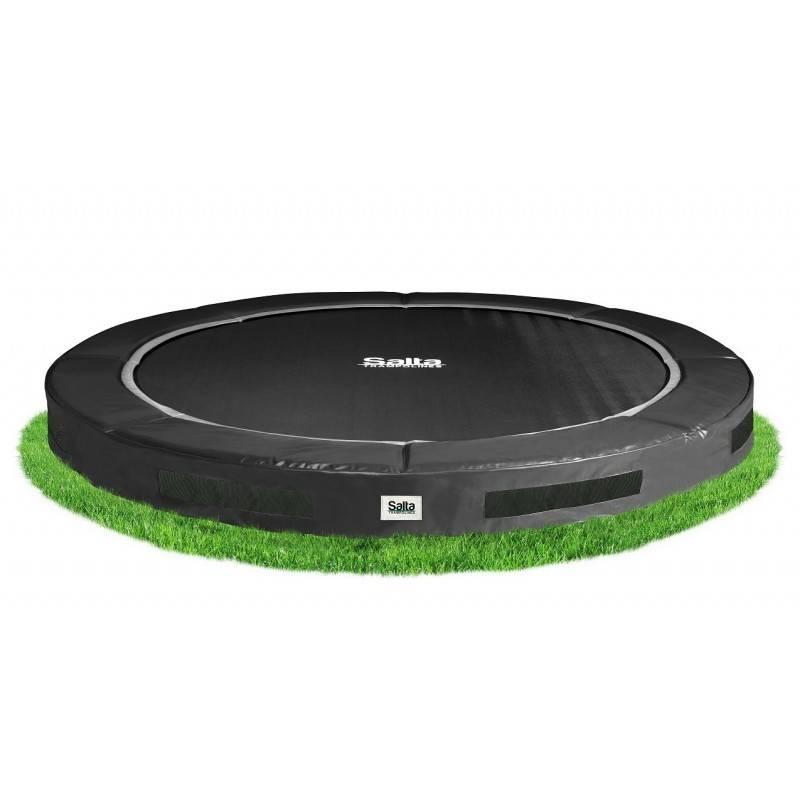 salta inground excellent trampoline zwart 305 cm. Black Bedroom Furniture Sets. Home Design Ideas