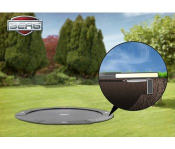 BERG Flatground Elite trampoline 330 grijs