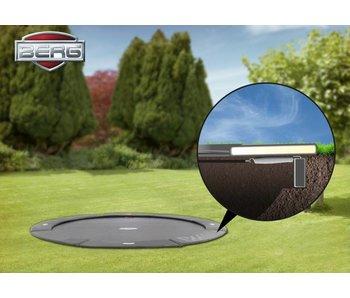 BERG FlatGround Champion trampoline 380 grijs