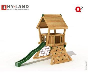 Hy-land Speeltoestel Q2 - Groene glijbaan