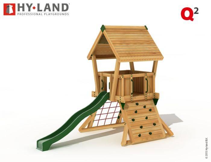 hy land speeltoestel q2 groene glijbaan recreatiespeelgoed. Black Bedroom Furniture Sets. Home Design Ideas