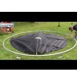 BERG InGround Trampoline Favorit 330 grijs + Safety Net Comfort