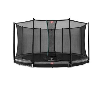 BERG InGround Trampoline Favorit 330 grijs + Safety Net Comfort