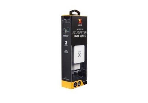 Xtorm Xtorm AC Adapter, USB+USB-C