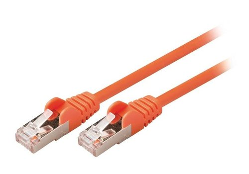 Valueline SF/UTP CAT5e-netwerkkabel male - male (oranje)