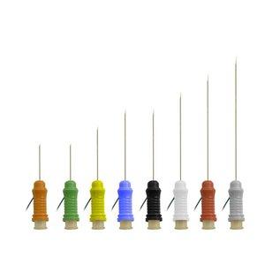 Bionen Botox Naald Electrode, Ø=0,35mm, L=33mm, kabel 100cm 1.5mm female TP - Geel
