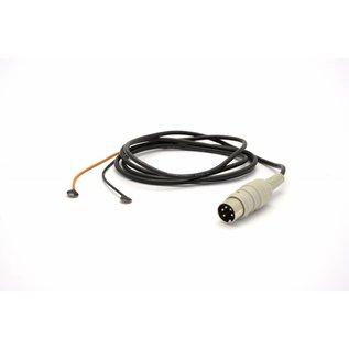 Bionen Surface Electrode - pair - Ag/AgCI - Ø 8mm - 2mm male TP 150cm