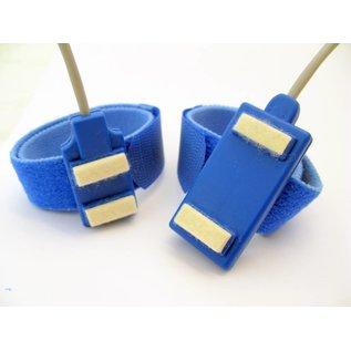 Bionen Bar Stimulating Electrodes,  velcro band L =35cm, spacing 40mm, kabel L=150cm - 5 pole DIN