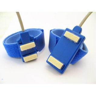 Bionen Bar Stimulating Electrodes, velcro band L =35cm, spacing 40mm, kabel L=150cm - 2mm male TP