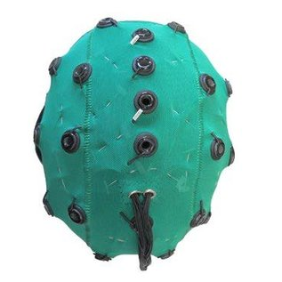 Bionen Headcap - 21 pre-wired Ag/AgCI Cylindrical internal - Maat 5 - 50cm c.c. - Adult - Geel