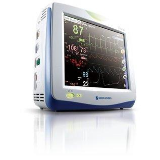 """Nihon Kohden Vismo PVM-2703 Vital Sign 10.4"""" Bedside Monitor"""