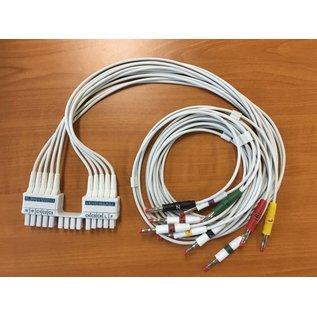 Mortara - Burdick 10-Lead connection kabel (IEC)