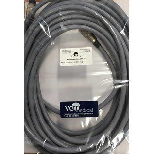 Kabel 10 meter met DIN plug